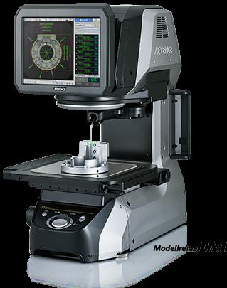 Optische Vermessung von präzisionsmechanischen Werkstücken