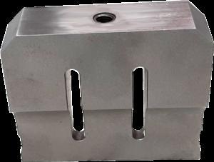 Steel sonotrode for breathing masks